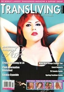 TRANSLIVING 37 Magazine Transgender, Non-Binary, X-Dress, Transvestite Lifestyle