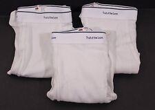 FTL Fruit of the Loom Underwear Lot of 3 Tighty Whiteys Briefs Size 3XL