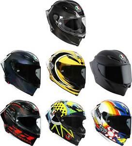 AGV Pista GP RR Helmet - Full Face Motorcyle Street Bike Race DOT ECE Rossi