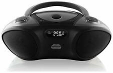 Bluetooth iLive Portable Stereo Boombox Cd Player Fm Radio Aux-In Ac/Dc Power