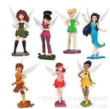 7pcs Tinkerbell Fairies Figur Figuren Puppe Spielzeug Kuchendeckel Toys Doll