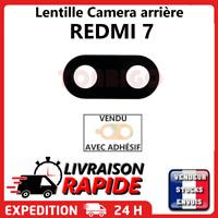 Vitre arrière caméra XIAOMI REDMI 7 Lentille appareil photo Lens verre