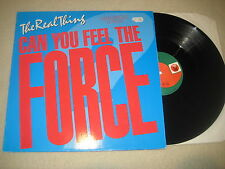 The Real Thing - Can you feel the force 12'' Maxi Single
