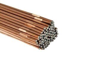 Gas welding rods. CCMS Copper coated. Mild/low steel. 1.6mm, 2.4mm, 3.2mm..