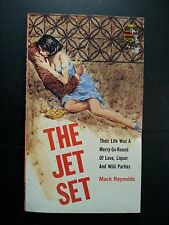 The Jet Set: Mack Reynolds Monarch Books 1964 Sleaze/GGA/Fiction/Adult E-29