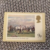 Horse Racing - Saddling Mahmoud for the Derby - Royal Mail Stamp Postcard