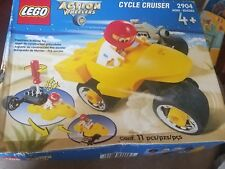 LEGO 2000 ACTION WHEELERS CYCLE CRUISER 2904 PRESCHOOL BUILDING TOY NEW