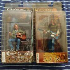 More details for kurt cobain nirvana neca teen spirit + unplugged figures ( read description )