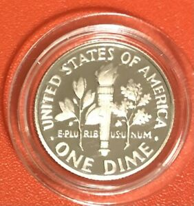 2021 S DIME PROOF COIN IN US MINT  AIR-TITE CAPSULE