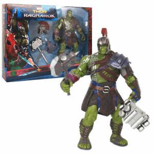 "Gladiator Hulk Marvel Thor 3 Ragnarok 8"" Bruce Banner Action Figure Collectible"