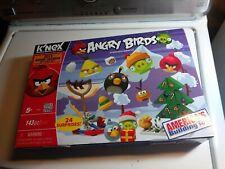 Rare K'NEX Angry Birds 2013 Advent Calendar Building Set - Open Box
