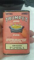 Vintage Trumpet Brand Ground Paprika By The H-P Coffee CO.