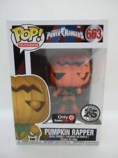 Pumpkin Rapper 663 Funko Pop Gamestop Exclusive Power Rangers