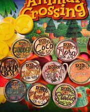Animal Crossing CUSTOM Amiibo Coins Cards LUCKY Marshal Marina Lolly Bob NEW