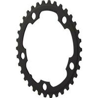 Shimano FC-2350 2x8 speed 34T Chainring 110mm BCD Black