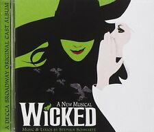 Wicked - The Broadway Musical - CD NEW & SEALED Ost, Soundtrack Stephen Schwartz