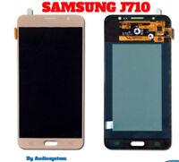 DISPLAY LCD+TOUCH SCREEN per SAMSUNG GALAXY J7 2016 SM-J710F ORO GOLD SCHERMO
