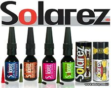 Solarez Uv Resin Bone Dry - Thick - Medium - Thin - Flex - 5g, 0.5 Oz and 2.0 Oz
