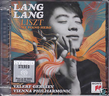"""""""Lang Lang Liszt My Piano Hero"""" Limited Numbered Stereo Hybrid DSD SACD CD Sony"""