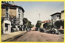 cpsm MONTMORENCY (Val d'Oise) Bd de l'ERMITAGE Hôtel de la Gare Automobiles