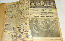 """Collection weekly newspaper  """"NOWOSCI ILUSTROWANE"""" 1918 year"""