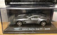 "DIE CAST "" ASTON MARTIN ONE-77 - 2009 "" SUPER CAR SCALE 1/43"