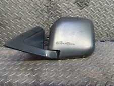 Mitsubishi shogun sport Lwb 2003 door wing mirror black electric passengers left
