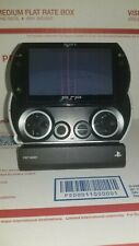 Sony PSP GO  black with OEM Case/Stand + Charging Dock Cradle Rare Item