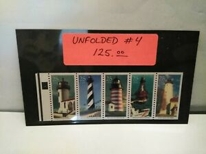 1990 25c Scott# 2474a  Unfolded BP W/PL#4 W/no Gap in Center VF NH Rare