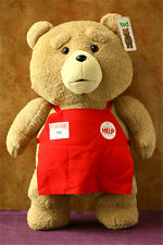 """NEW Ted Movie TED the Bear PLUSH Doll Soft Toy Cute Teddy Pillow Figure 18"""" 3+"""