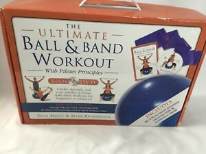 New Pilates Principles The Ultimate Ball & Band Workout Box Set With Book & DVD