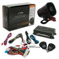 avital 3100lx 3 channel car alarm system w 2 4 button. Black Bedroom Furniture Sets. Home Design Ideas