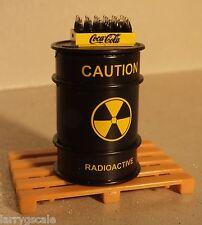 Danbury Mint Coca Cola Case w Toxic Waste Drum Miniature & Pallet 1/24 Scale G