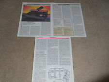 Technics SL-P1300 Reference CD Player Review, 3 pg, 1989, Full Test, Info, Specs
