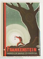 Frankenstein (Sweden) FRIDGE MAGNET (2 x 3 inches) movie poster karloff swedish