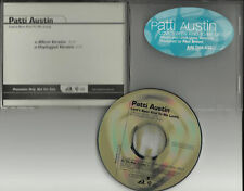 PATTI AUSTIN Love's Been Kind To UNPLUGGED PROMO DJ CD