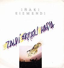 IÑAKI EIZMENDI-GAUAREN GANDIK IGESEAN + OIN BASO SINGLE VINILO 1980 SPAIN