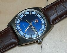 Rado Companion 17 Jewels Blue Tone Swiss Watch