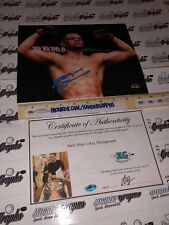 NATE DIAZ UFC MMA SIGNED AUTOGRAPHED 8X10 PHOTOGRAPH EXACT PROOF COA photo