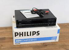 Philips cd-600 reproductor de CD en negro con embalaje original