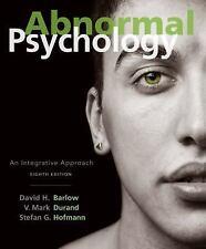 Abnormal Psychology: An Integrative Approach (MindTap Course List)