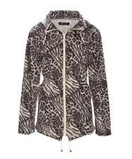 Polyester Leopard Raincoat Coats & Jackets for Women