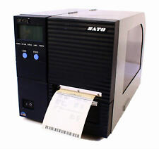Sato GT412e WGT412000 Thermal Barcode Label Tag Printer Parallel 300DPI