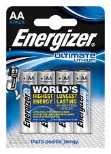 16x FR6 L91 Energizer Ultimate Lithium AA LR06 MN1500 Mignon 1,5 V Stilo R6 E91