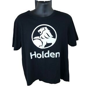 Holden/General Motors Logo Black T Shirt Large Free Shipping