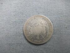 2 Francs Napoléon III Argent 1869 A TB
