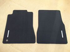 2007 2008 2009 MUSTANG GT CALIFORNIA SPECIAL BLACK CARPETED FLOOR MATS 2 PC SET