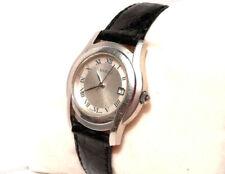 GUCCI 5500 L Damen Uhr mit Datum GUCCI Leder Band NEU ! / GUCCI LADIES WATCH