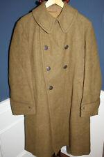Original WW1 U.S. Army OD Wool Overcoat, Named & 1917 Dated, Very Nice