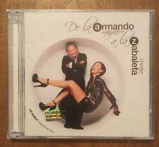 SUSANA ZABALETA y ARMANDO MANZANERO de La A a La Z Double 2 CD En Vivo IMPORT